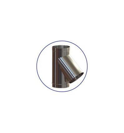 Тройник одностенный (AISI 321)