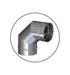 Колено (отвод) одностенное (AISI 321)