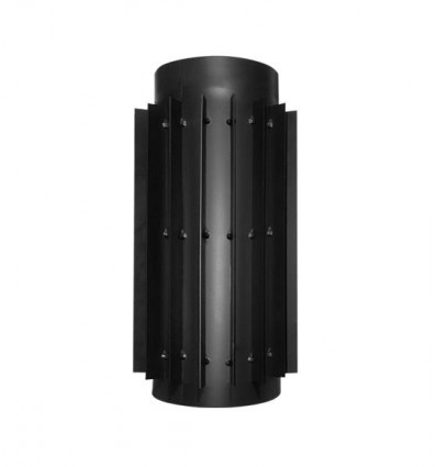 Труба-радиатор черная стальная Darco