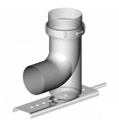 Опорное пластиковое колено 87° ALMEVA с консолью