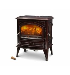 Чугунная печь Dovre 640 CB/E6 коричневый