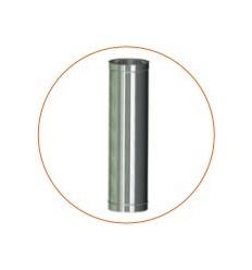 Труба для дымохода одностенная (AISI 304)