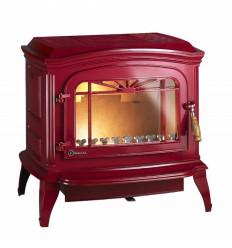 Каминная печь Invicta Brandford красная эмаль