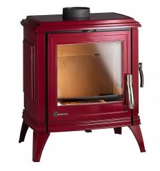 Каминная печка Invicta Sedan М красная эмаль