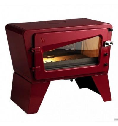 Каминная печь Invicta CH'TI красная эмаль